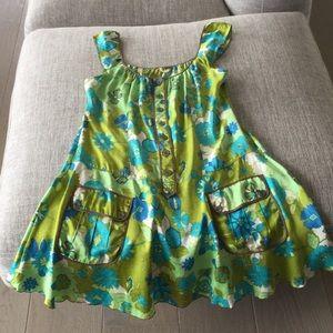 Retro Free People silk mini dress